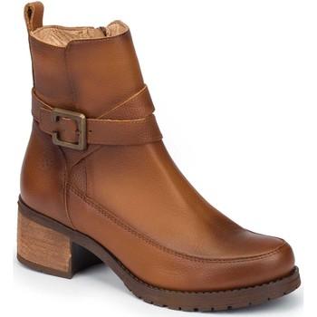Zapatos Mujer Botines Yokono Alter Marrón