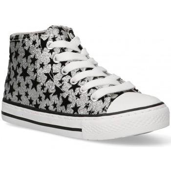 Zapatos Niña Zapatillas altas Bubble 58906 plata