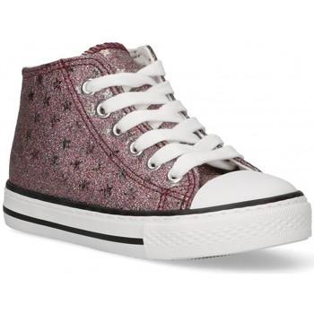 Zapatos Niña Zapatillas altas Bubble 58907 rosa