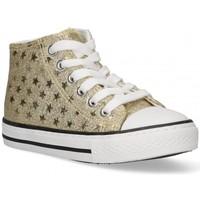 Zapatos Niña Zapatillas altas Bubble 58908 oro