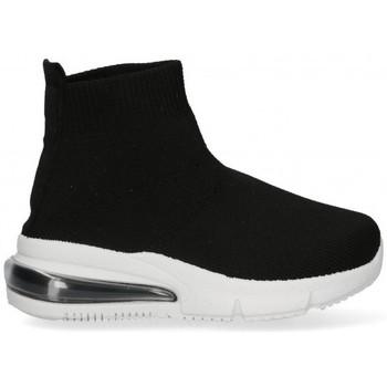 Zapatos Niña Zapatillas altas Bubble 58933 negro