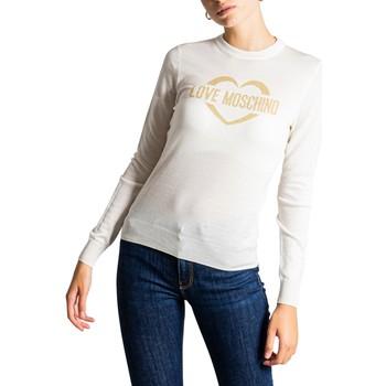 textil Mujer Jerséis Love Moschino WS87G10X1376 Bianco