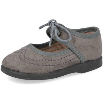 Zapatos Niña Bailarinas-manoletinas Andrea Ruiz 115 GRIS