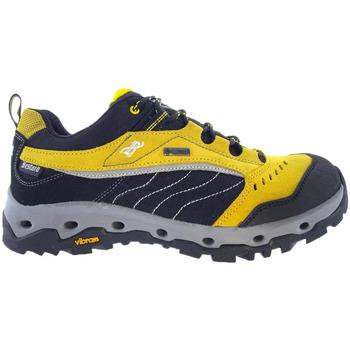 Zapatos Hombre Senderismo Bestard Zapatos  Space Low Gore-Tex Amarillo