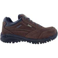 Zapatos Hombre Senderismo Bestard Zapatillas  Oxford Gore-Tex Marrón