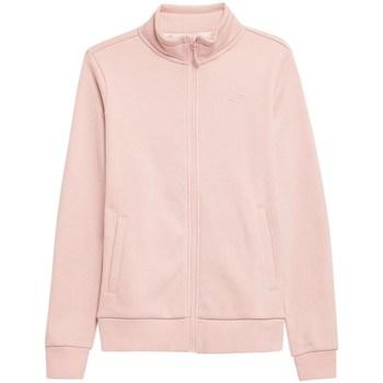 textil Mujer Sudaderas 4F BLD351 Rosa