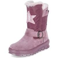 Zapatos Niños Botas de nieve Superfit Flavia Rosa