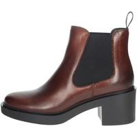 Zapatos Mujer Botas de caña baja Frau 80L3 Marrón