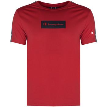 textil Hombre Camisetas manga corta Champion  Rojo