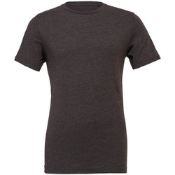 textil Camisetas manga corta Bella + Canvas CVC3001 Gris Oscuro Jaspeado