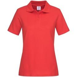 textil Mujer Tops y Camisetas Stedman  Rojo Escarlata