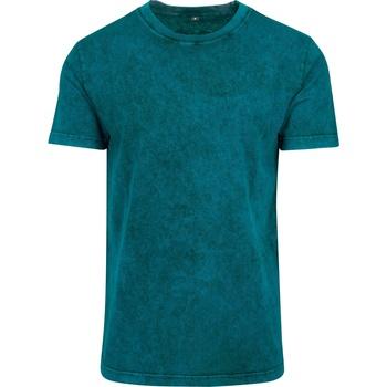 textil Hombre Camisetas manga corta Build Your Brand BY070 Negro
