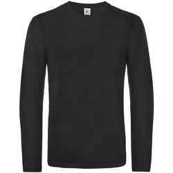 textil Hombre Camisetas manga larga B And C TU07T Negro