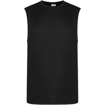 textil Hombre Camisetas sin mangas Awdis JC022 Negro Azabache