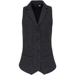 textil Mujer Chaleco de traje Premier PR626 Gris