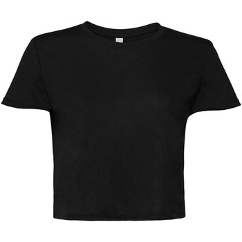 textil Mujer Camisetas manga corta Bella + Canvas BE8882 Negro