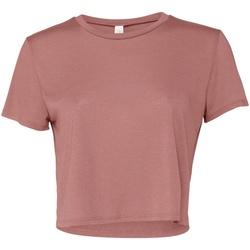 textil Mujer Camisetas manga corta Bella + Canvas BE8882 Violeta