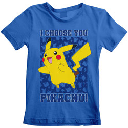 textil Niños Camisetas manga corta Pokemon  Azul