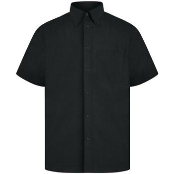 textil Hombre Camisas manga corta Absolute Apparel  Negro