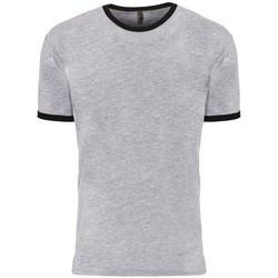 textil Camisetas manga corta Next Level NX3604 Gris moteado/Negro