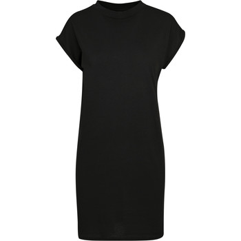 textil Mujer Vestidos cortos Build Your Brand BY101 Negro