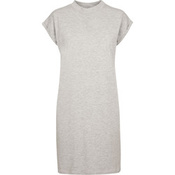 textil Mujer Vestidos cortos Build Your Brand BY101 Gris