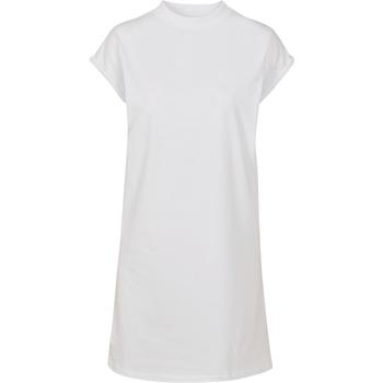 textil Mujer Vestidos cortos Build Your Brand BY101 Blanco