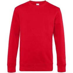 textil Hombre Sudaderas B&c WU01K Rojo