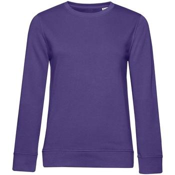 textil Mujer Sudaderas B&c WW32B Púrpura Radiante