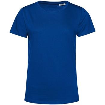 textil Mujer Camisetas manga corta B&c TW02B Azul