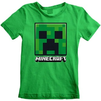 textil Niños Camisetas manga corta Minecraft  Verde
