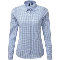 textil Mujer Camisas Premier PR352 Blanco