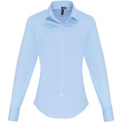 textil Mujer Camisas Premier PR344 Azul