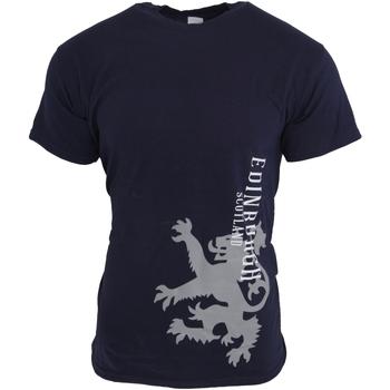textil Hombre Camisetas manga corta Universal Textiles  Azul marino