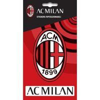 Casa Sticker, papeles pintados Ac Milan Taille unique Rojo