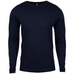 textil Hombre Camisetas manga larga Next Level NX3601 Azul