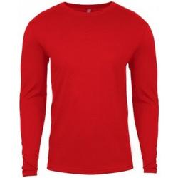 textil Hombre Camisetas manga larga Next Level NX3601 Rojo