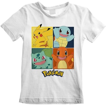 textil Niños Tops y Camisetas Pokemon  Blanco