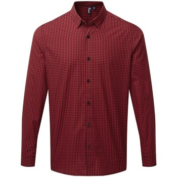 textil Hombre Camisas manga larga Premier PR252 Negro