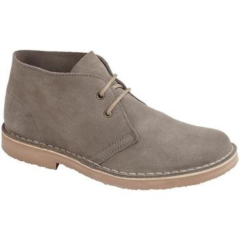 Zapatos Hombre Botas de caña baja Roamers  Gris