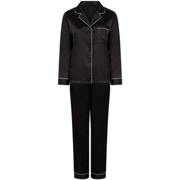 textil Mujer Pijama Towel City TC55 Negro