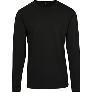 textil Hombre Sudaderas Build Your Brand BY091 Negro