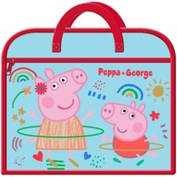 Bolsos Niños Cartable Peppa Pig  Rojo