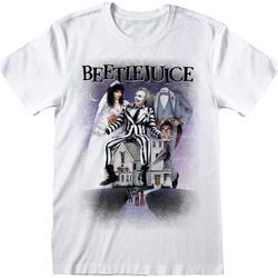 textil Camisetas manga corta Beetlejuice  Blanco