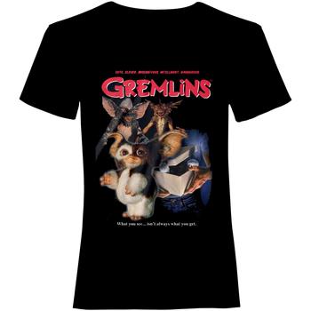 textil Camisetas manga corta Gremlins  Negro