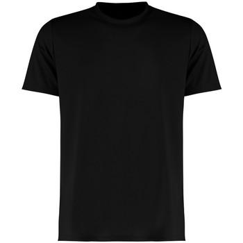 textil Hombre Camisetas manga corta Kustom Kit KK555 Negro