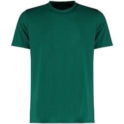 textil Hombre Camisetas manga corta Kustom Kit KK555 Verde