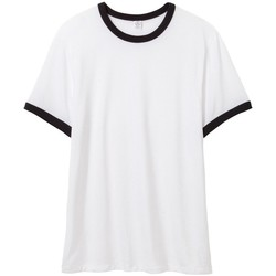 textil Hombre Camisetas manga corta Alternative Apparel AT013 Negro