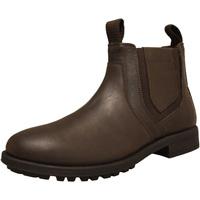 Zapatos Hombre Botas Roamers  Marrón Oscuro