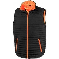 textil Chaquetas Result R239X Negro/Naranja